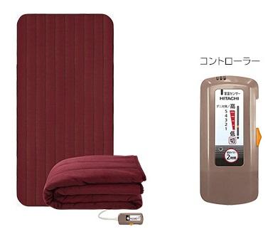 【最大41倍超ポイントバック祭】日立 電子コントロール毛布 HLM-102MSRX 敷毛布タイプ [■]