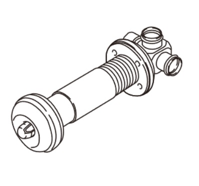 【最安値挑戦中!最大25倍】リンナイ ガスFF暖房機オプション FOT-262 ウォールトップA φ50用 400~600mm [■]