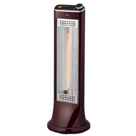 【coordiroom】ユーイング 電気ストーブ US-CR900L(R) 速暖カーボンヒーター 遠赤外線 ざくろレッド [▲]