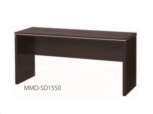 井上金庫 マネージメントデスク MMD-SD1550 サイドデスク W1500 × D500 × H716 [【店販】♪▲]