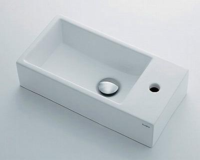 【最安値挑戦中!最大24倍】カクダイ 【493-083】 JEWEL BOX Luju 壁掛手洗器 [□]