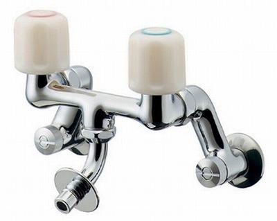 【最安値挑戦中!最大25倍】水栓金具 カクダイ 127-603 洗濯機用混合栓 [□]