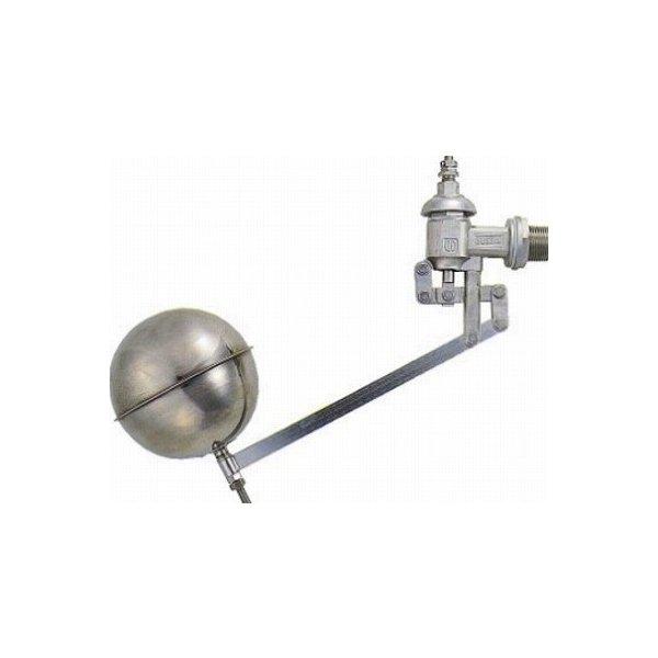 【最安値挑戦中!最大25倍】水栓金具 カクダイ 6608-25 複式ステンレスボールタップ [□]