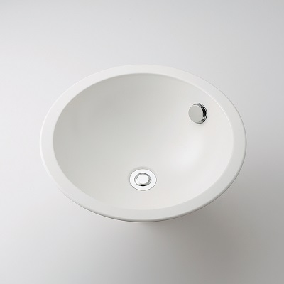 【最安値挑戦中!最大25倍】水栓金具 カクダイ 493-127-W 丸型洗面器//ホワイト オーバーカウンター [♪■]