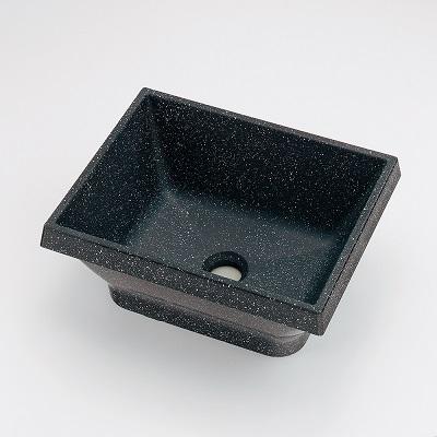 【最安値挑戦中!最大25倍】水栓金具 カクダイ 493-147-D 角型手洗器//月影石 オーバーカウンター [□]