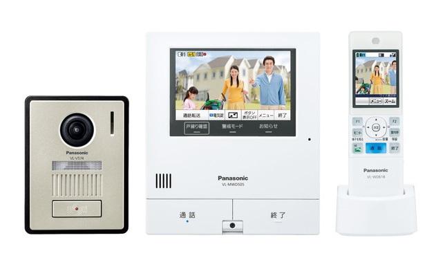 【在庫あり】インターホン パナソニック VL-SWD505KF ワイヤレスモニター付テレビドアホン2-7タイプ 電源コード式 [☆5]