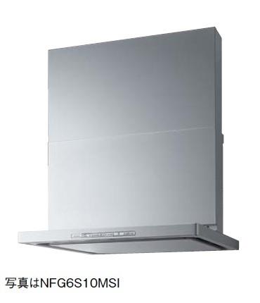 【最安値挑戦中!最大23倍】レンジフード ノーリツ NFG6S10MST コンロ連動 60cmタイプ ステンレス スライド前幕板同梱 [♪◎]