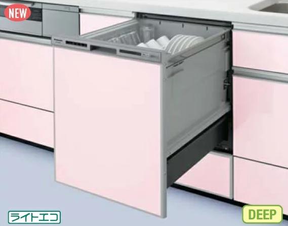 【最安値挑戦中!最大24倍】食器洗い乾燥機 パナソニック NP-45VD7S 幅45cm ディープタイプ (パネル別売) [■]