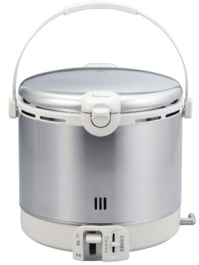 【最大44倍お買い物マラソン】ガス炊飯器 パロマ 【PR-09EF 都市ガス用】 ステンレスタイプ 1.8L・10合