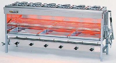 【最安値挑戦中!最大25倍】業務用ガス赤外線グリラー リンナイ R-8456C 上火式 大型グリラー 赤外線バーナー(シュバンク) ※受注生産品 [♪≦【店販】§]