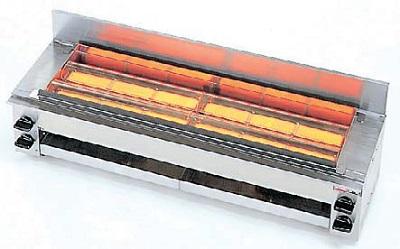 【最安値挑戦中!最大25倍】業務用ガス赤外線グリラー リンナイ RGK-64 下火式 串焼64号 コンパクト45 赤外線バーナー(シュバンク) [♪≦【店販】]