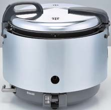 【最安値挑戦中!最大24倍】業務用ガス炊飯器 リンナイ RR-S15VNS 卓上型 普及タイプ 涼厨 コンパクト45 ジャー付 内釜フッ素仕様 3.0L(1.5升) [≦]