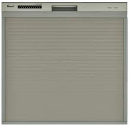 【最大44倍お買い物マラソン】食器洗い乾燥機 リンナイ RSWA-C402C-SV スライドオープンタイプ 後付けタイプ シルバー [≦]