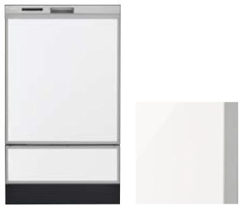 【最安値挑戦中!最大25倍】食器洗い乾燥機 リンナイ オプション KWP-SD401P-W 化粧パネル ホワイト(光沢) [≦]