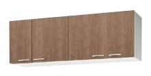 【最安値挑戦中!最大24倍】クリナップ 【WS9W-150 ホワイト】 木キャビキッチン すみれ ショート吊戸棚 可動棚板1段 間口150cm [♪▲]