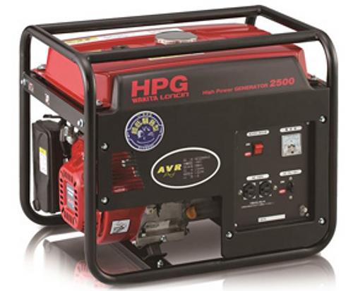 【最安値挑戦中!最大34倍】ワキタ ガソリン発電機 HPG2500-5 ゼネレーター AVR 50Hz 2000W メイホーシリーズ [♪■]