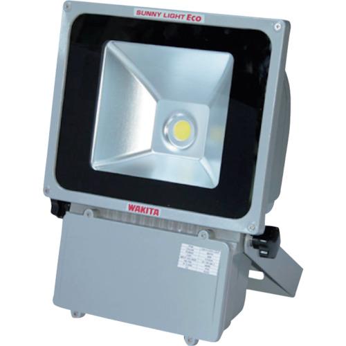 【最安値挑戦中!最大34倍】ワキタ LED投光器 WAKITA-LED-80W サニーライトエコ 明るさ8000Lm メイホーシリーズ [♪■]