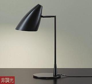 【最安値挑戦中!最大34倍】大光電機(DAIKO) DST-40535Y スタンド ランプ付 非調光 電球色 ブラック 中間スイッチ付 コード2m 差込プラグ付 [∽]
