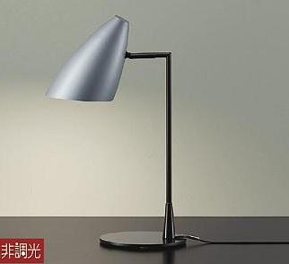 【最安値挑戦中!最大34倍】大光電機(DAIKO) DST-40536Y スタンド ランプ付 非調光 電球色 シルバー 中間スイッチ付 コード2m 差込プラグ付 [∽]