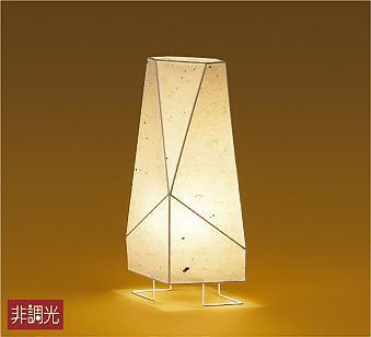 【最安値挑戦中!最大34倍】大光電機(DAIKO) DST-40594Y スタンド ランプ付 AKARI 和風 非調光 電球色 和紙 白 中間スイッチ付 コード3m 差込プラグ付 [∽]