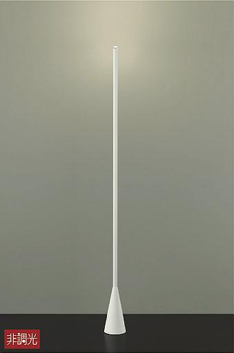【最安値挑戦中!最大34倍】大光電機(DAIKO) DST-40654Y スタンド フロアスタンド LED内蔵 非調光 電球色 ホワイト 中間スイッチ コード3m 差込プラグ [∽]