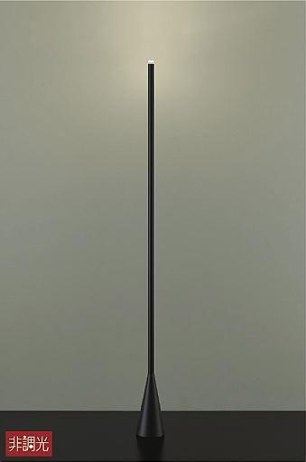 【最安値挑戦中!最大34倍】大光電機(DAIKO) DST-40655Y スタンド フロアスタンド LED内蔵 非調光 電球色 ブラック 中間スイッチ コード3m 差込プラグ [∽]