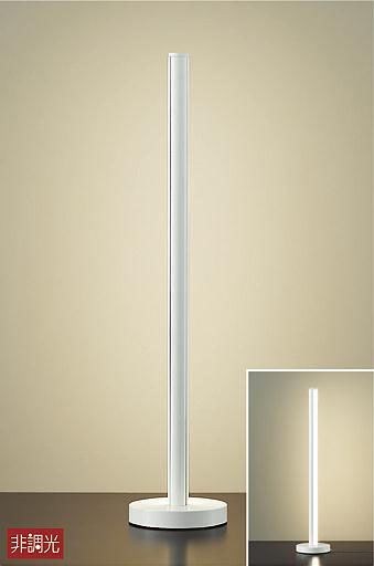 【最安値挑戦中!最大34倍】大光電機(DAIKO) DST-40667Y スタンド LED内蔵 非調光 電球色 ホワイト 中間スイッチ付 コード3m 差込プラグ付 [∽]