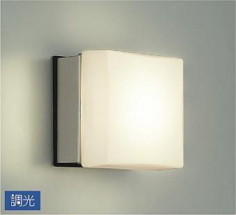 【最安値挑戦中!最大34倍】照明器具 大光電機(DAIKO) DWP-36588 ポーチライト 壁 ブラケットライト DECOLED'S 防雨・防湿形 シルバー LED内蔵 電球色 [∽]