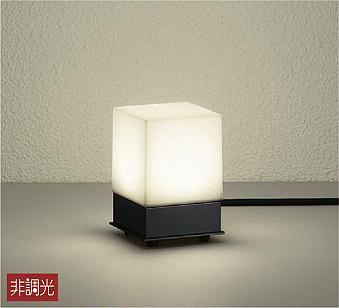 【最安値挑戦中!最大25倍】照明器具 大光電機(DAIKO) DWP-36928 ポールライト DECOLED'S 防雨形 黒 LED内蔵 電球色