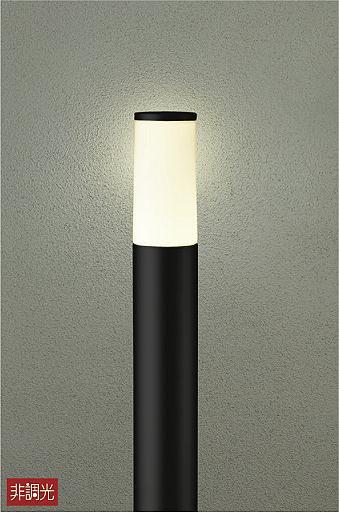 【最安値挑戦中!最大25倍】大光電機(DAIKO) DWP-39634Y ポールライト ランプ付 非調光 電球色 ブラック 高910 防雨形 LED電球4.7W