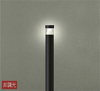 【最安値挑戦中!最大34倍】大光電機(DAIKO) DWP-40512Y アウトドアライト ポール灯 LED内蔵 非調光 電球色 ブラック 防雨形 [∽]