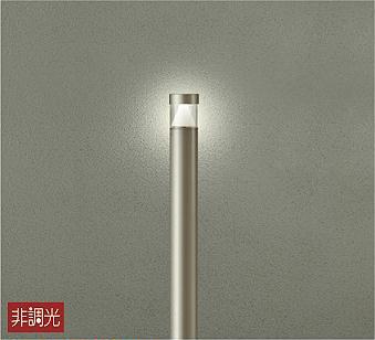 【最安値挑戦中!最大34倍】大光電機(DAIKO) DWP-40514Y アウトドアライト ポール灯 LED内蔵 非調光 電球色 シルバー 防雨形 [∽]