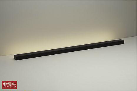 【最安値挑戦中!最大34倍】照明器具 大光電機(DAIKO) DST-38694Y 間接照明 スタンド LED内蔵 まくちゃん 電球色 黒色 [∽]
