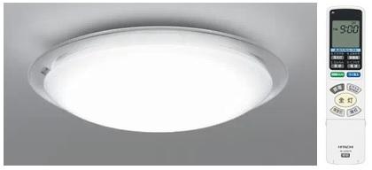 【最安値挑戦中!最大23倍】照明器具 日立 LEC-AHS1210K LEDシーリング ecoこれっきり ラク見え 搭載タイプ ~12畳 [■]