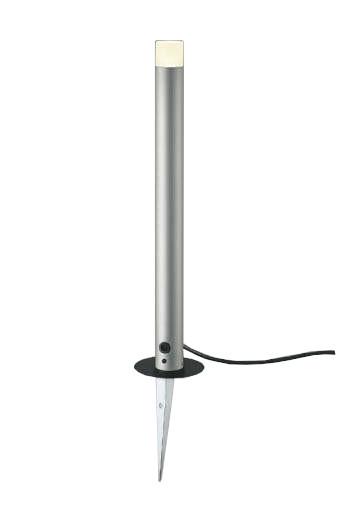 【最安値挑戦中!最大25倍】コイズミ照明 AU92265 アウトドアライト LED一体型 非調光 電球色 防雨型 ねじ込式 コネクタ付 シルバーメタリック
