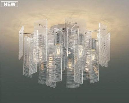 【最大44倍スーパーセール】コイズミ照明 AA49271L LEDシャンデリア LED付 電球色 白熱球40W×8灯相当 透明