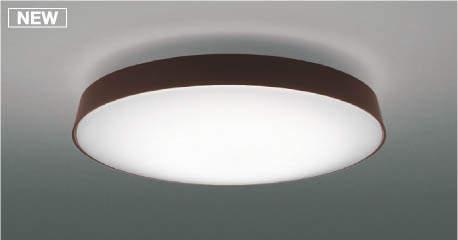 【最安値挑戦中!最大25倍】コイズミ照明 AH48972L LEDシーリング LED一体型 Fit調色 調光調色 電球色+昼光色 リモコン付 ~8畳 ウェンゲ色