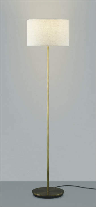 【最安値挑戦中!最大34倍】コイズミ照明 AT43709L LEDスタンドライト 本体(セード別売) LED一体型 Sunset調光 電球色 リモコン 白熱灯100W相当 [(^^)]