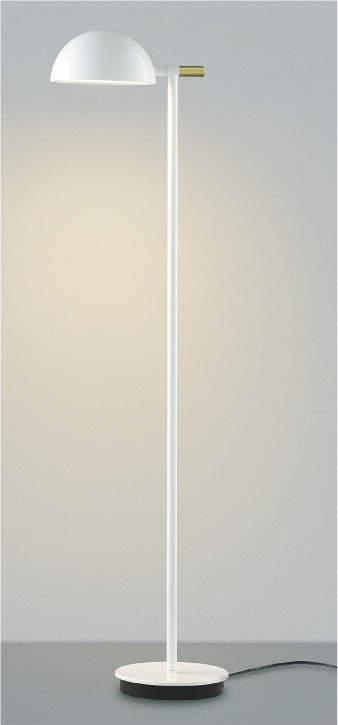 【最安値挑戦中!最大34倍】コイズミ照明 AT43718L フロアスタンド Sunset調光 リモコン 白熱球100W相当 LED一体型 電球色 ホワイト [(^^)]