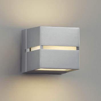 【最安値挑戦中!最大34倍】コイズミ照明 AU35033L ポーチライト ブラケットライト 壁付・門柱取付可能型防雨型 白熱球40W相当 LED付 電球色 シルバー [(^^)]