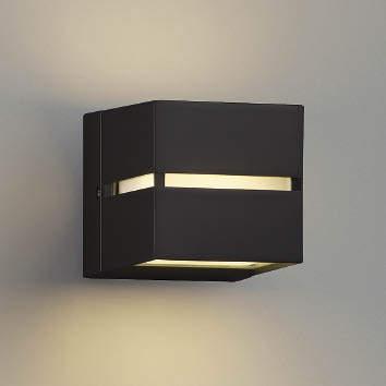【最安値挑戦中!最大25倍】コイズミ照明 AU35035L ポーチライト ブラケットライト 壁付・門柱取付可能型 防雨型 白熱球40W相当 LED付 電球色 黒