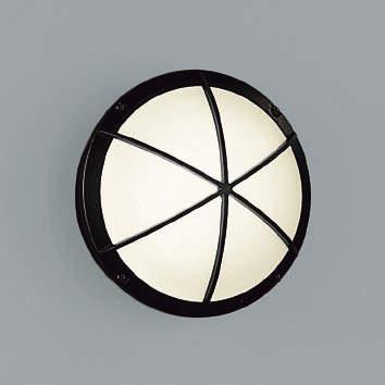 【最大44倍スーパーセール】コイズミ照明 AU38607L ポーチライト 玄関灯 表札灯 壁 ブラケットライト 白熱球40W相当 LED付 電球色 防雨型 ブラック