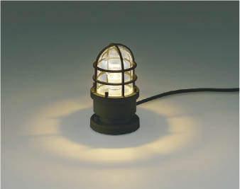 【最大44倍スーパーセール】コイズミ照明 AU40188L ガーデンライト 門灯 庭園灯 ポーチ灯 白熱球60W相当 LED付 電球色 防雨型 茶色