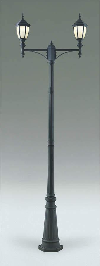 【最安値挑戦中!最大34倍】コイズミ照明 AU40764L LEDガーデンライト LED付 電球色 灯具 ポール別売り 白熱球60W×2相当 防雨型 [(^^)]