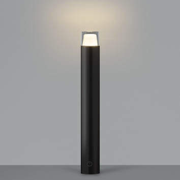 【最安値挑戦中!最大25倍】コイズミ照明 AU42260L(別梱包2ヶ口) ガーデンライト ポール灯 調光タイプ 白熱球60W相当 LED一体型 電球色 黒色 防雨型