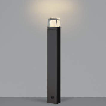 【最大44倍スーパーセール】コイズミ照明 AU42269L(別梱包2ヶ口) ガーデンライト ポール灯 白熱球60W相当 LED一体型 電球色 黒色 防雨型