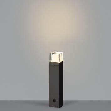 【最大44倍スーパーセール】コイズミ照明 AU42272L(別梱包2ヶ口) ガーデンライト ポール灯 白熱球60W相当 LED一体型 電球色 黒色 防雨型