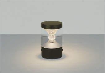 【最大44倍スーパーセール】コイズミ照明 AU45502L ガーデンライト 門灯 庭園灯 LED一体型 電球色 防雨型 ブラウン