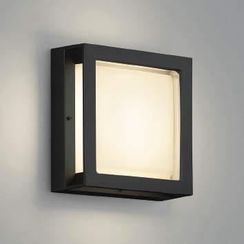 【最安値挑戦中!最大25倍】コイズミ照明 AU46392L ポーチライト 壁 ブラケットライト LED一体型 電球色 防雨・防湿型 ブラック