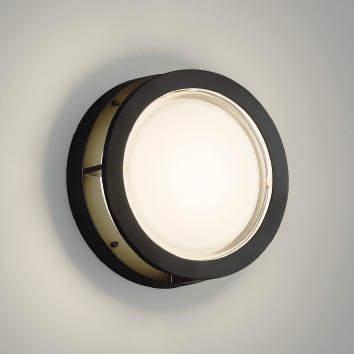 【最安値挑戦中!最大34倍】コイズミ照明 AU46394L ポーチライト 壁 ブラケットライト LED一体型 電球色 防雨・防湿型 ブラック [(^^)]